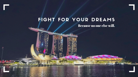 LET'S NOT GIVE - UP OUR DREAMS